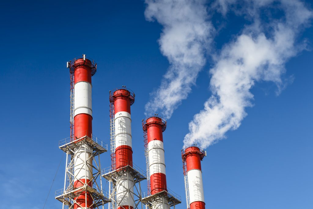 heat resistant paint on smoke stack